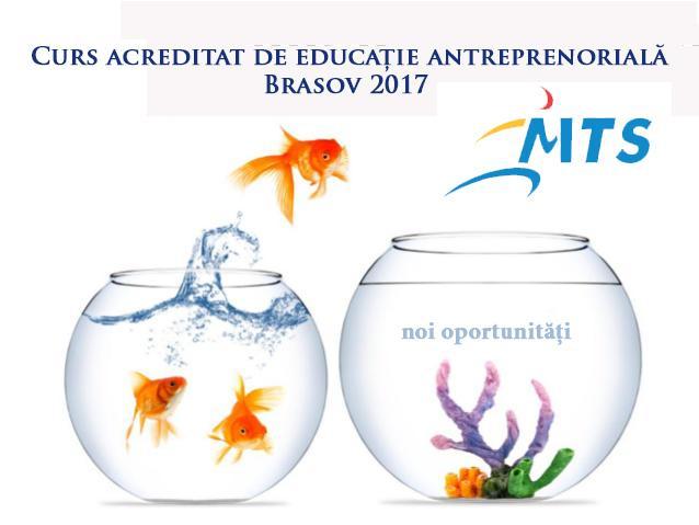 Curs acreditat educatie antreprenoriala - DJST Brasov